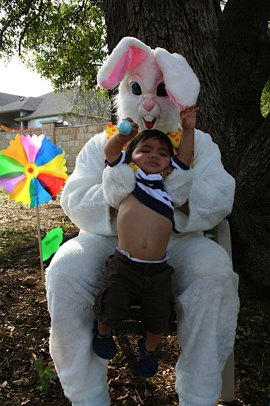 Scary Easter Bunny Photos Creepy easter bunnies